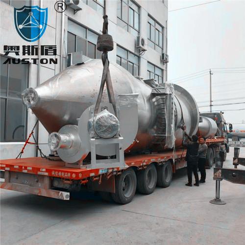 大型不锈钢布袋除尘器系统(安徽某科技公司购入)